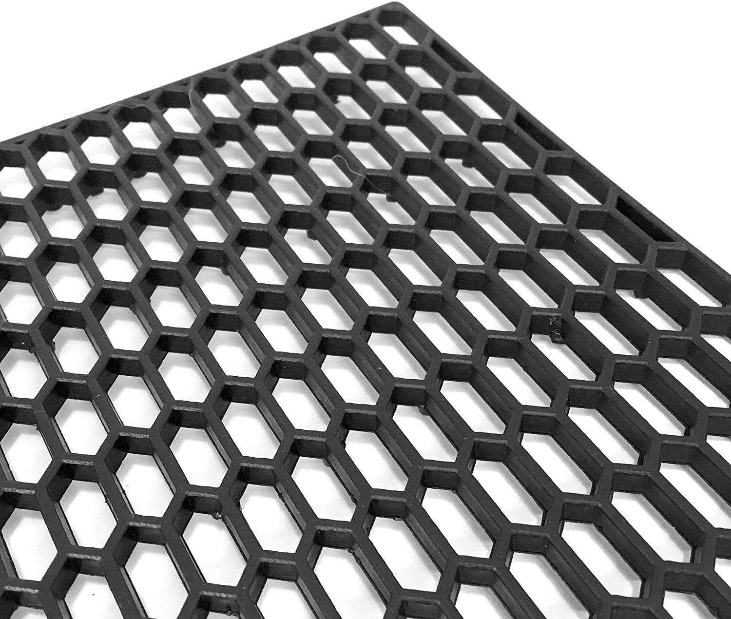 UNIVERSAL HIGH QUALITY BLACK PLASTIC RS LOOK MESH GRILLES GRILLE VERY DEEP