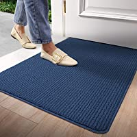 Door Mat Outdoors Indoor Rug Inside Front Outdoor for Entryway20 X32,Blue