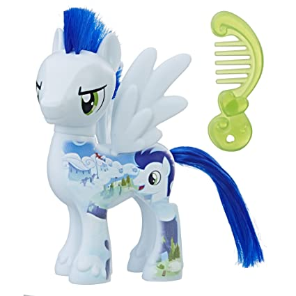 amazon com my little pony the movie all about soarin doll toys games