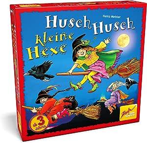 Zoch Husch Husch kleine Hexe Niños y adultos Juego de mesa de carreras - Juego de tablero (Juego de mesa de carreras, Niños y adultos, Niño/niña, 3 año(s), Alemán, Inglés, Francés, Italiano,