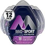 MiO Sport Liquid Water Enhancer, Arctic Grape Electrolyte, 48mL (Pack of 12)