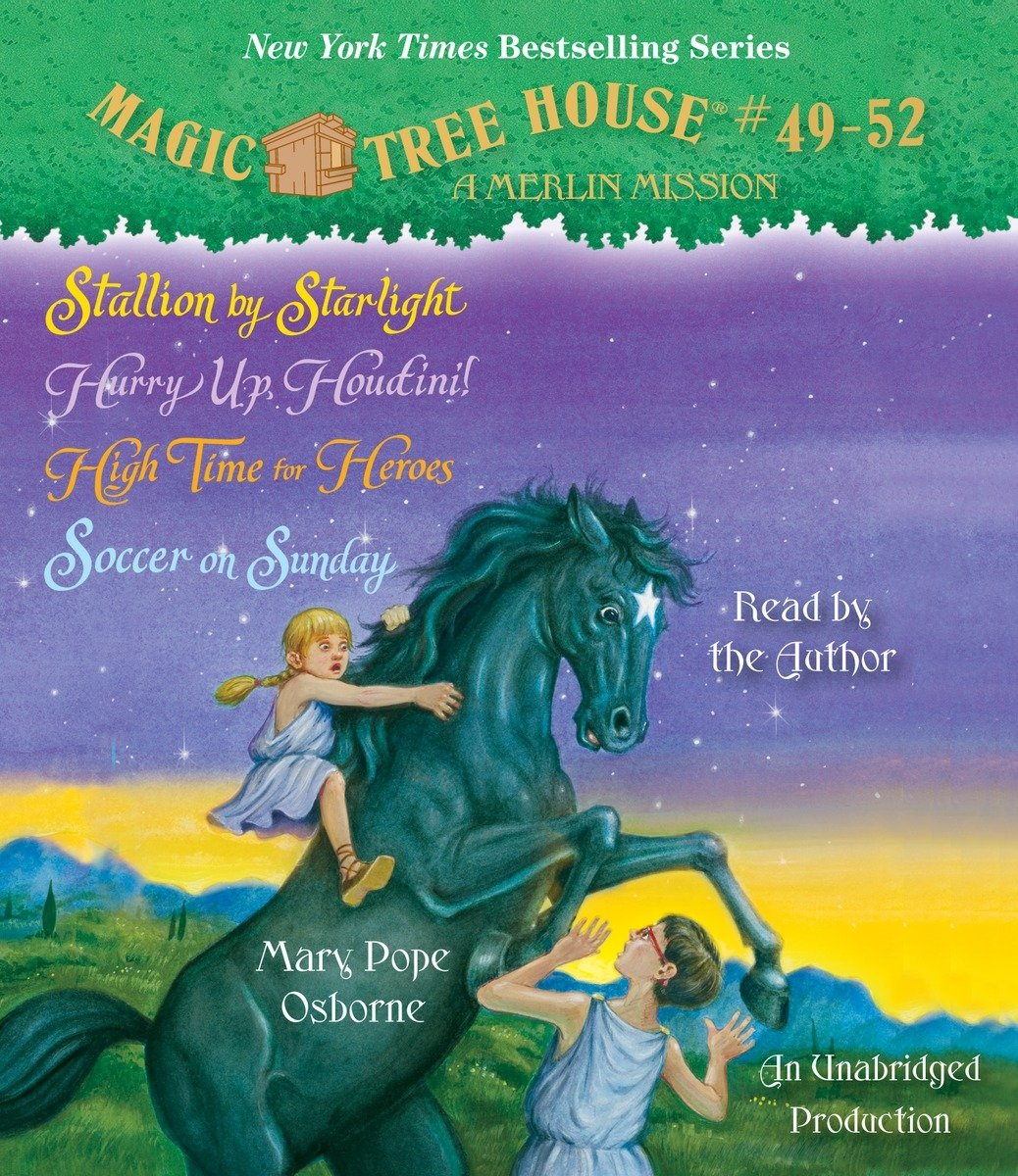 Magic Tree House Collection Books 49 52 Stallion By Starlight