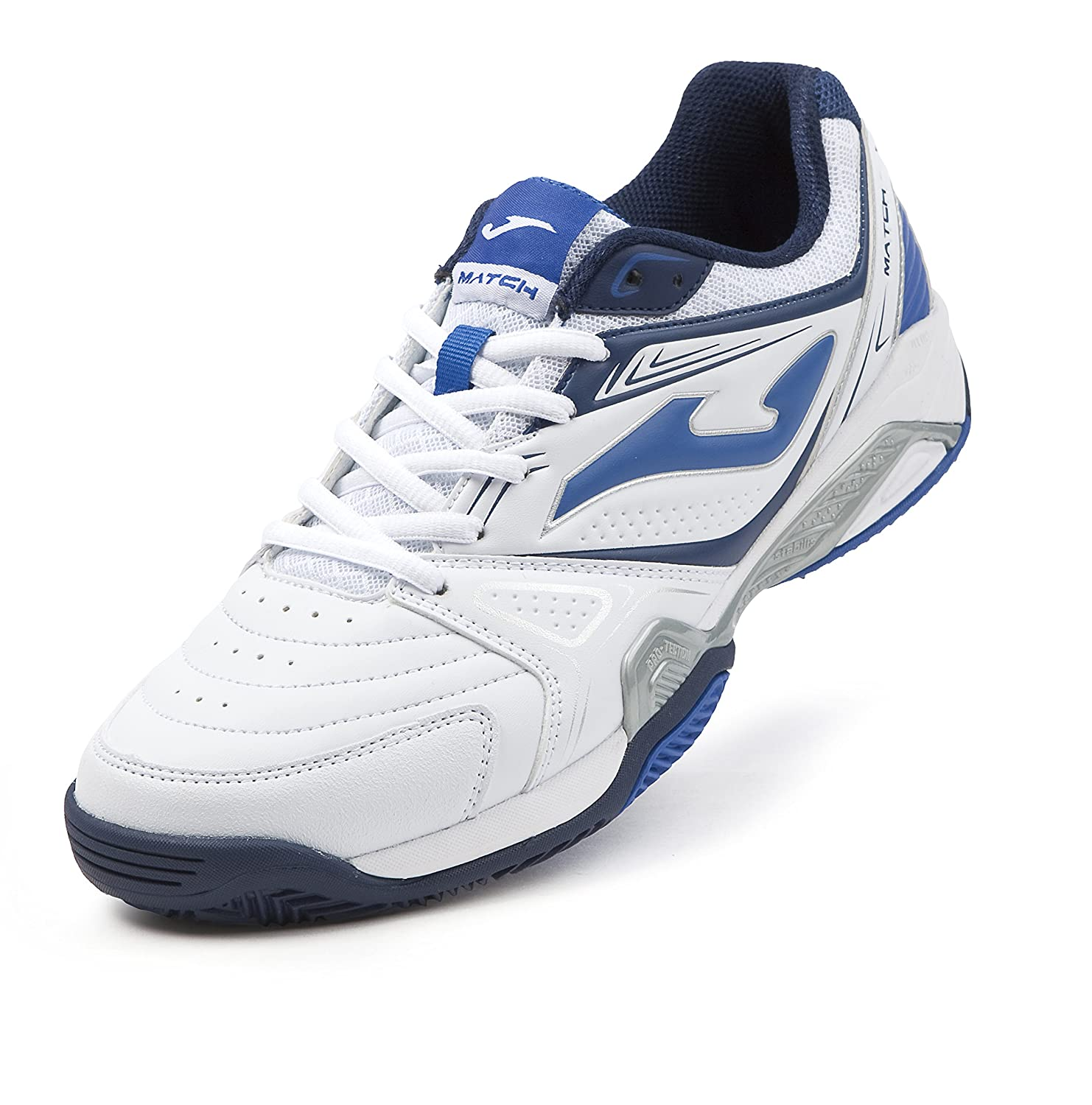 Joma Zapatillas T.Match 605 Clay White Royal: Amazon.es: Deportes ...