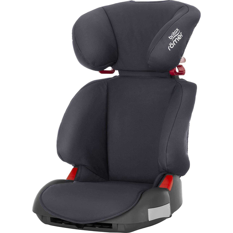 Britax Rö mer Autositz Adventure, Gruppe 2/3 (15 - 36 kg), Kollektion 2018, storm grey Britax Römer NPD 2000030292