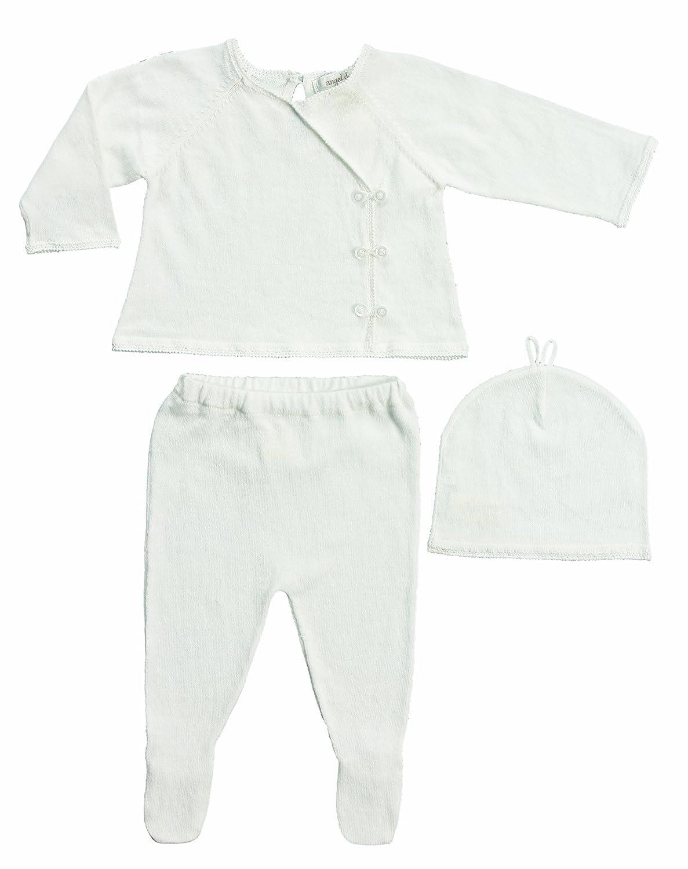 Amazon.com: Angel Dear Neutral Baby Kimono Sweater Set Gift Outfit ...