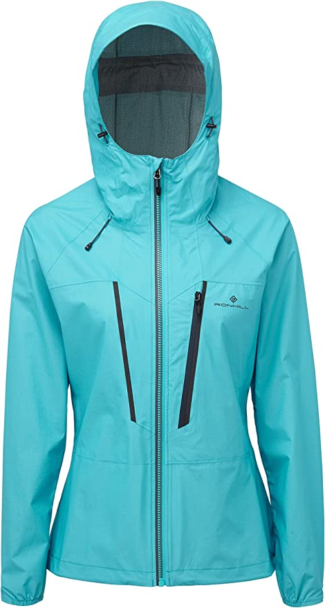 RonHill Womens Infinity Fortify Jacket Top Purple Sports Running Full Zip