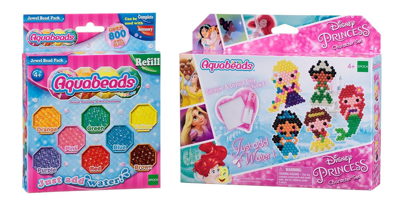 Aquabeads Jewel Bead Pack Disney Princess Character Set