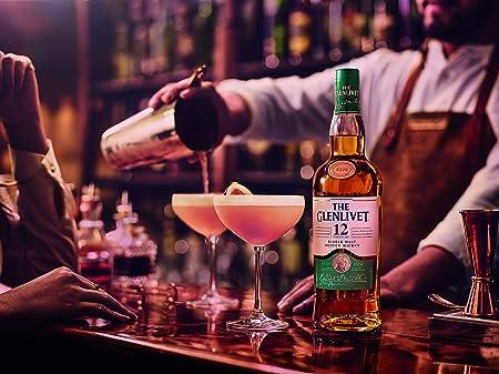 The Glenlivet 12 años Whisky Escocés de Malta Premium, 700 ml