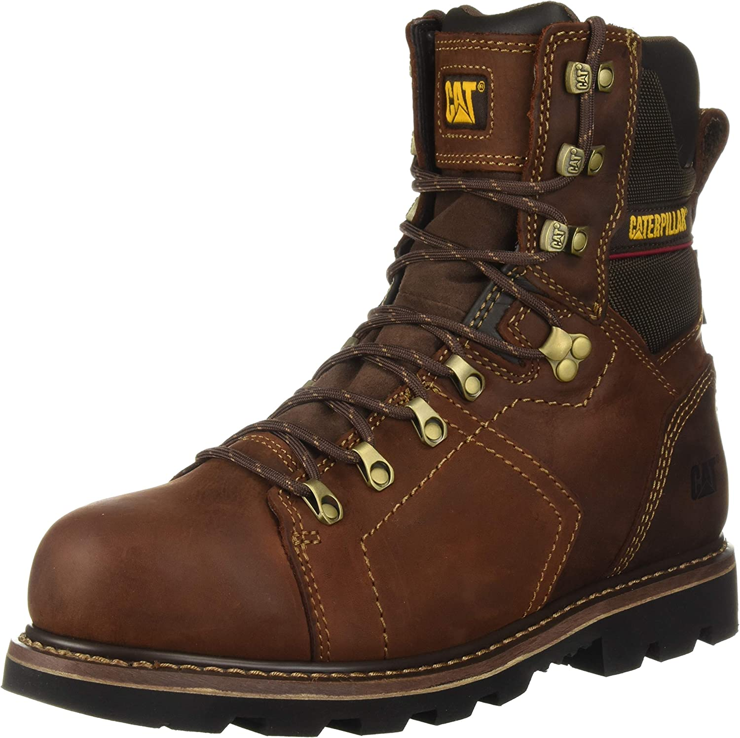Cat Men's Alaska 2.0 Work Boot in Black