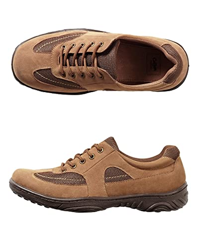 Cotton Traders Travel Shoes Mens Trainer Lace Up E Fit Lightweight Walking