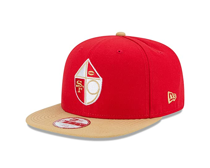 332ad33df79 New Era NFL Historic San Francisco 49ers 65-72 Baycik 9FIFTY Snapback