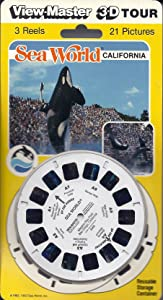 Sea World California 3d View-Master 3 Reel Set