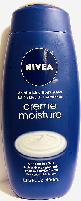 Nivea Moisturizing Body Wash - Creme Moisture - Net Wt. 13.5 FL OZ (400