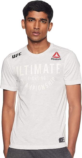 Reebok UFC FK Ultimate Jersey - Camiseta Hombre: Amazon.es: Ropa y accesorios