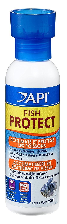 API Hygiène et Santé des Poissons pour Aquariophilie Fish Protect 118 ML Agrobiothers REN094393