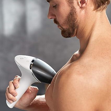 Philips Lumea BG9041/00 - Depiladora Luz Pulsada para Hombres, la ...