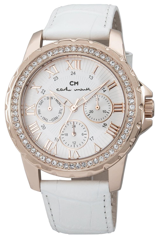 Carlo Monti Damen-Armbanduhr Catania Analog Quarz Leder CM600-316