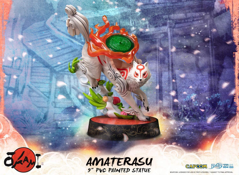 First4Figures 608685 Okami: Amaterasu PVC Collectable Figurine