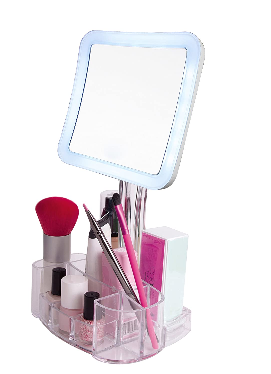 best lighted make up mirror reviews