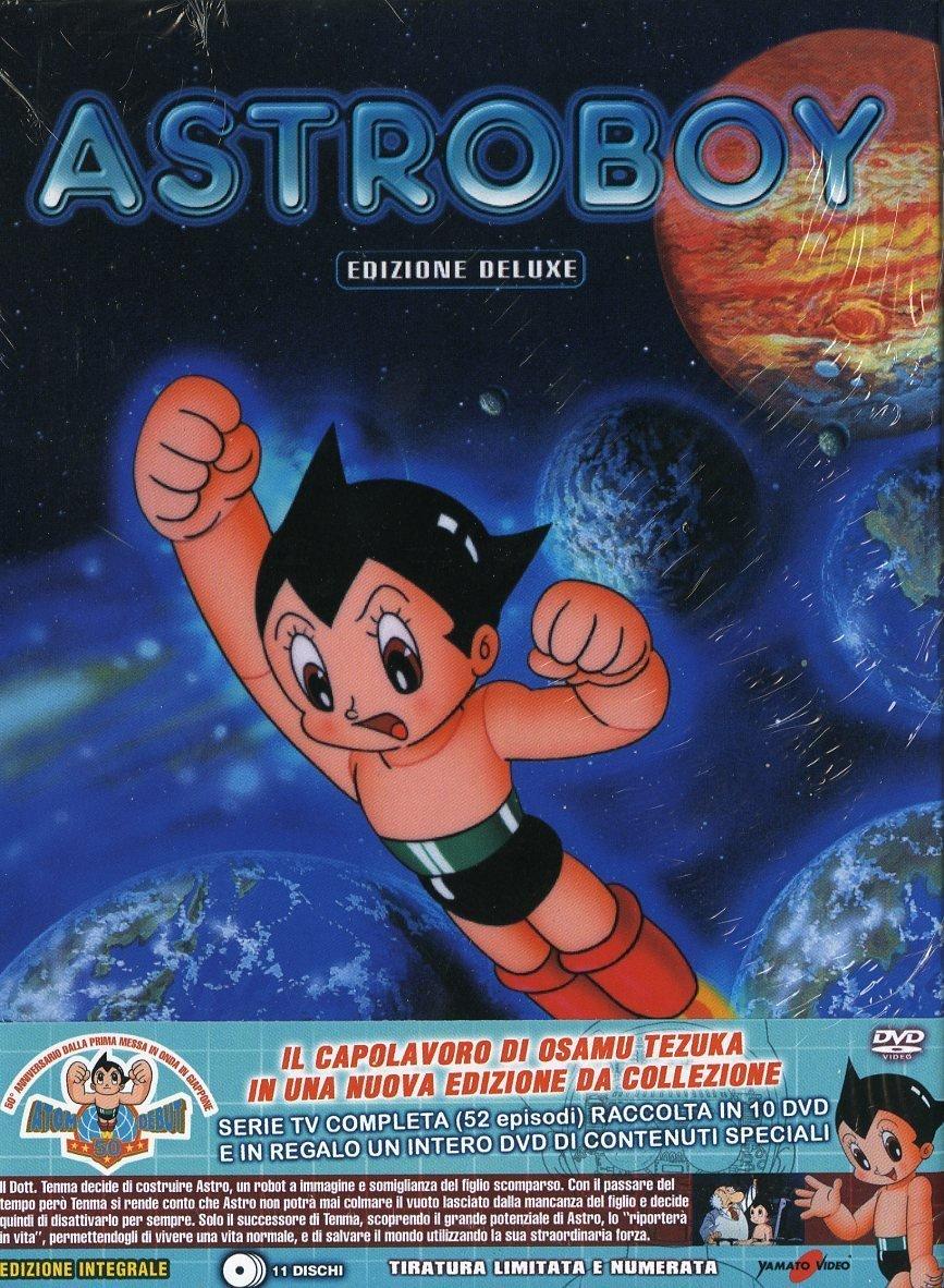 Astroboy - La Serie Completa Ed. Limitata E Numerata 11 Dvd Italia: Amazon.es: Noboru Ishiguro, Osamu Tezuka: Cine y Series TV