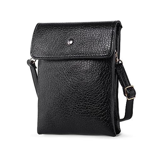 1d050d26f1 Women Vegan Leather Crossbody Bag Cell Phone Wallet Purses + Katloo Nail  Clipper