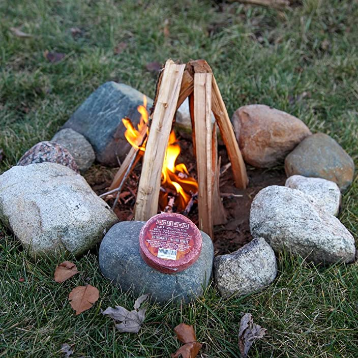 Amazon's Best Natural Fire Starter: Shefko EasyFire Fire Starter w/ 30-min