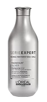Loreal Professional Magnesium Silver Shampoo Serie Expert gegen Silber Stich 300 ml