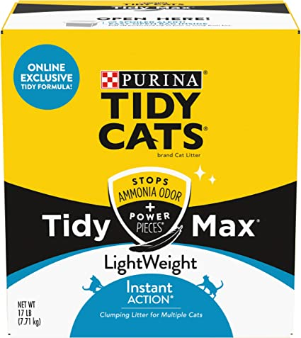 Scented LightWeight Clumping Cat Litter Purina Tidy Cats Instant Action Extra Strength