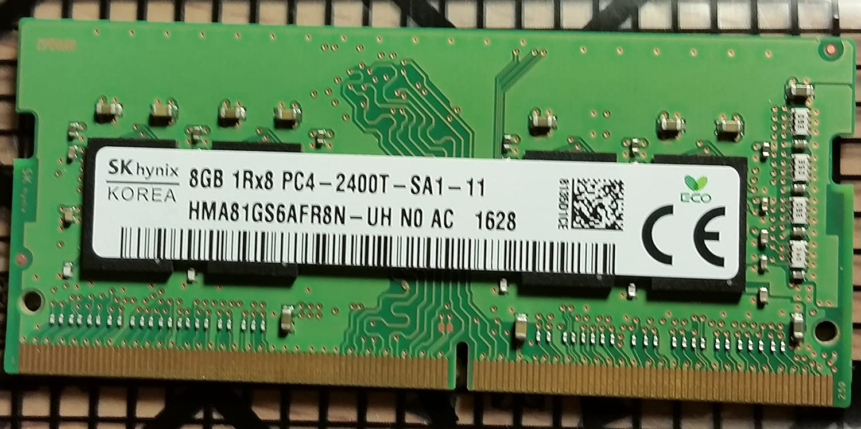 Hynix 8GB DDR4 PC4-2400T 260-pin SO-DIMM Laptop Memory HMA81GS6AFR8N-UH