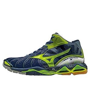 Mizuno Wave Tornado X Mid - Zapatillas deportivas, color azul, color azul, talla 44 EU: Amazon.es: Deportes y aire libre