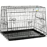 Me & My Pets Sloped Folding Car Cage