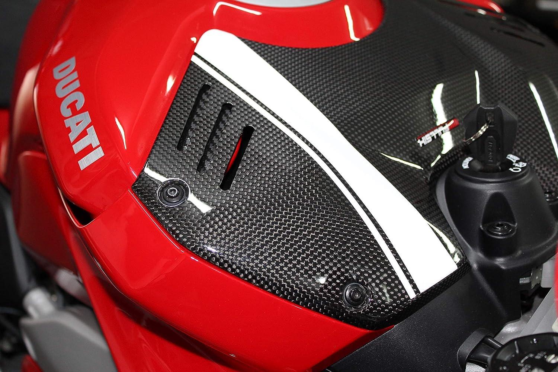 Vulturbike Pegatinas para Carene Ducati Panigale V4 Matt Grafito