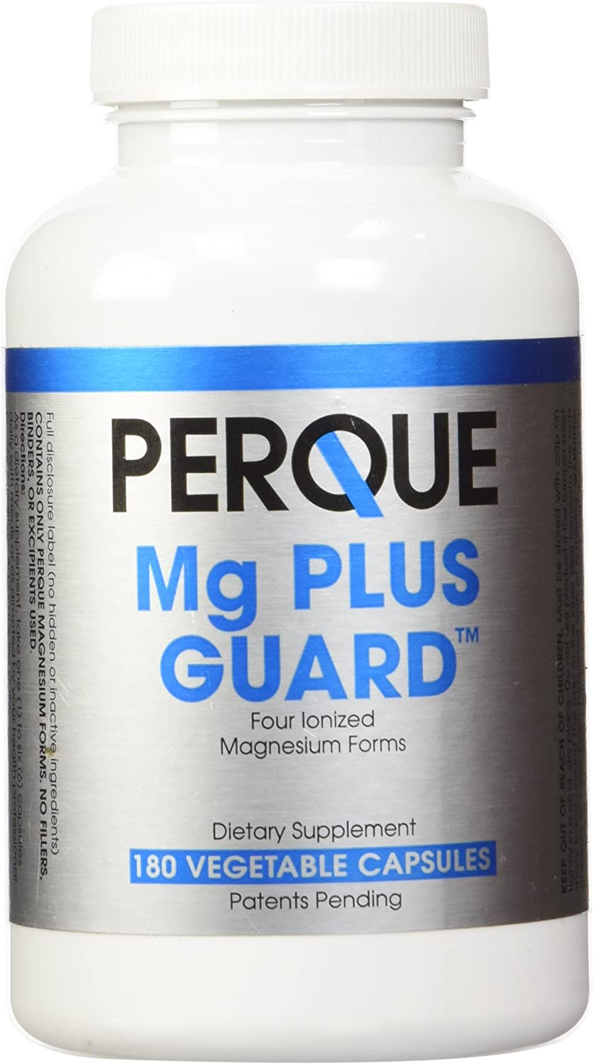 PERQUE Mg Plus Guard 180 Vegetable Capsules
