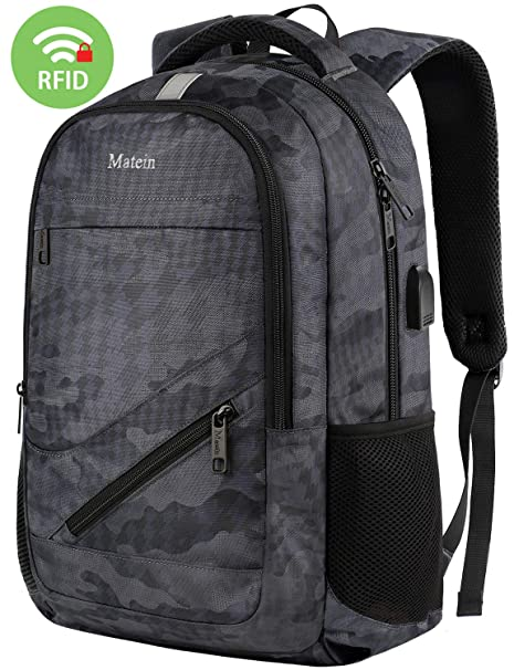 e297a926bff7 Amazon.com  Travel Backpack with USB