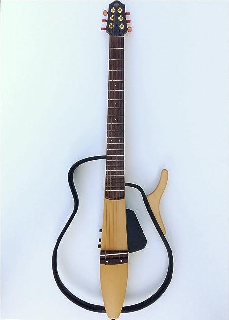 Yamaha slg100s Silencioso acero acústica guitarra eléctrica ...