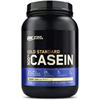OPTIMUM NUTRITION GOLD STANDARD 100% Micellar Casein Protein Powder, Slow Digesting, Helps Keep You Full, Overnight…