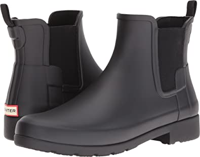 166f16419 Amazon.com | Hunter Women's Original Refined Chelsea Boots | Rain ...