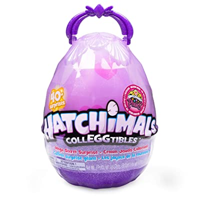 Hatchimals CollEGGtibles, Mega Secret Surprise with 10 Exclusive and 1 Pixies Royal: Toys & Games