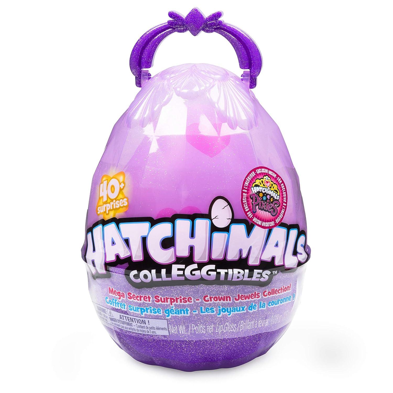 Hatchimals CollEGGtibles, Mega Secret Surprise with 10 Exclusive and 1 Pixies Royal, Multicolor