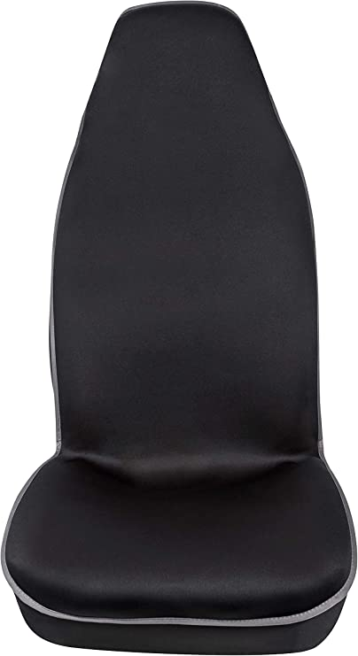 Amazon.com: PIC AUTO Funda de asiento universal de piel de ...