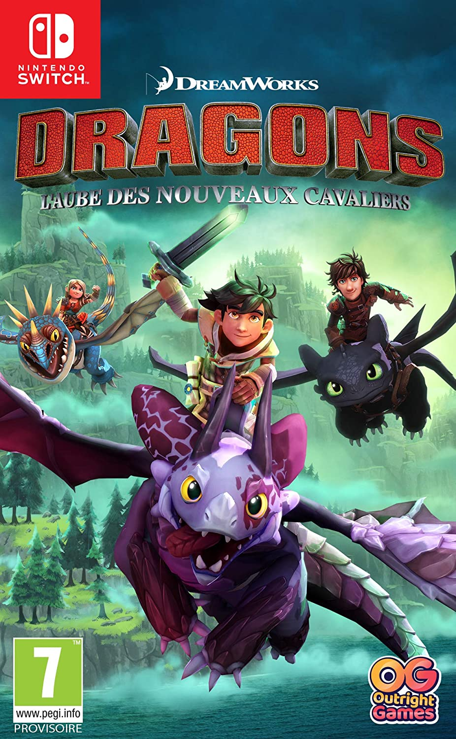 Dragons [SWITCH] : l'aube des nouveaux cavaliers | Outright Games