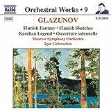 Glazunov: Finnish Fantasy, Finnish Sketches
