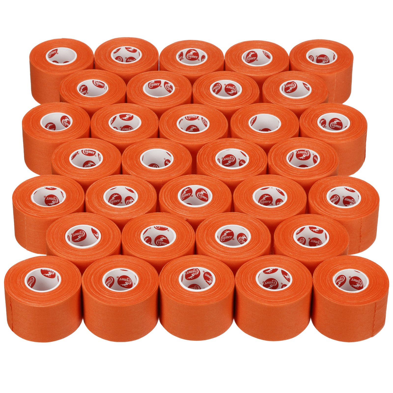 Cramer Team Color Athletic Tape for Ankle, Wrist, and Injury Taping, Helps Protect and Prevent Injuries, Promotes Faster Healing, Athletic Training First Aid Supplies, 1.5'', Bulk 32 Roll Case