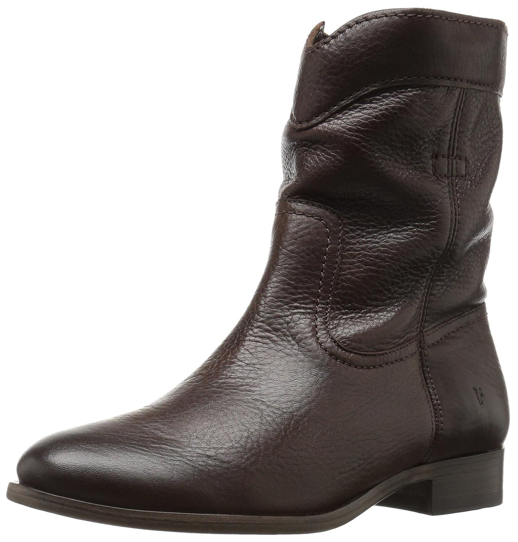 FRYE Women's Cara Roper Short Boot B01BNULL7G 9.5 M US|Chocolate