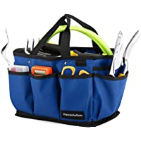 Housolution Gardening Tote Bag, Deluxe Garden Tool Storage Bag and Home Organizer with Pockets, Wear-Resistant…
