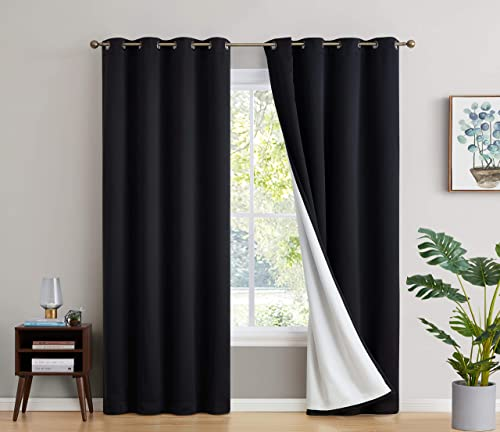 HLC.ME 100 Complete Full Blackout Lined Drapery
