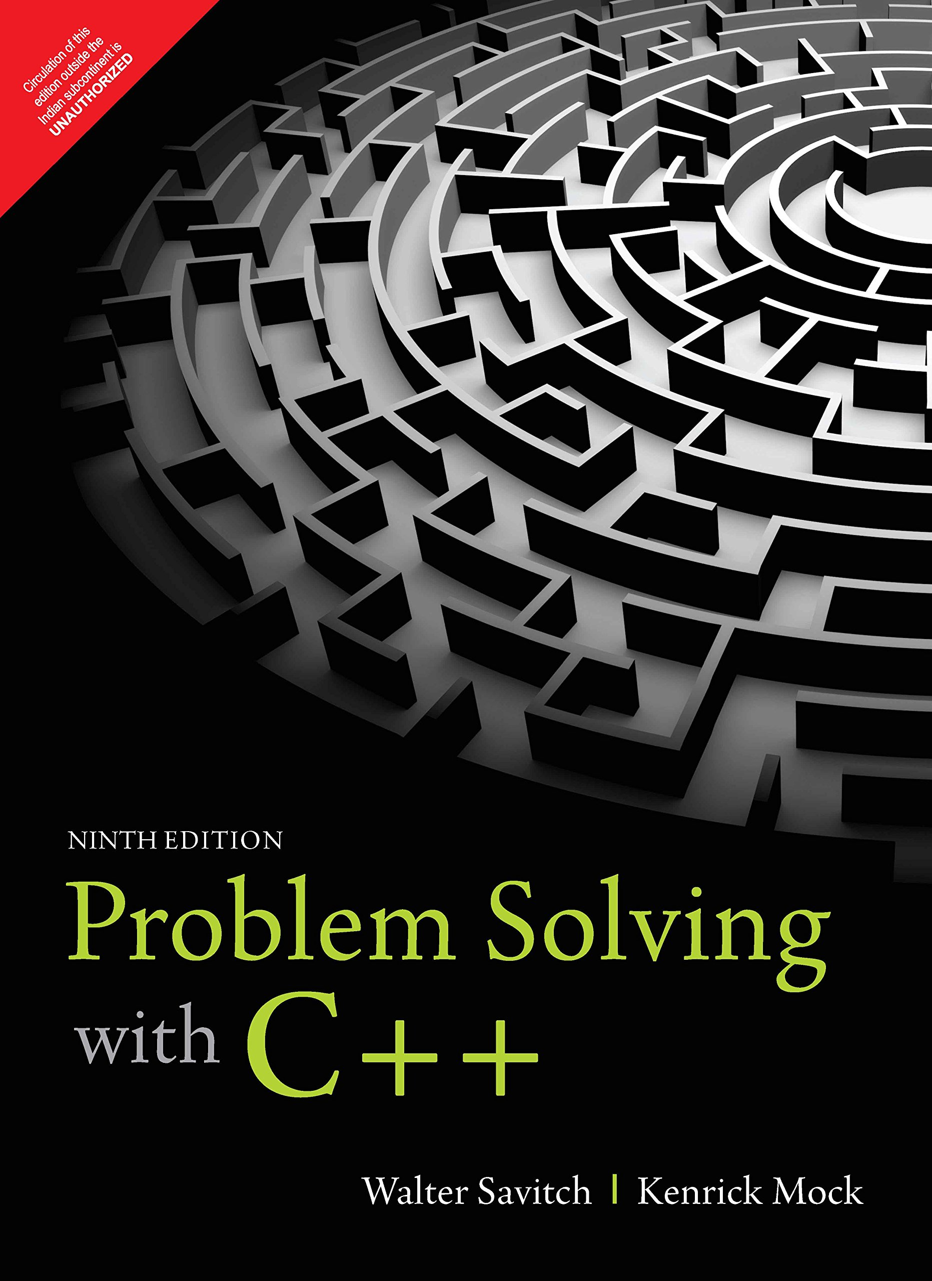Problem Solving With C++ , 9Th Edition