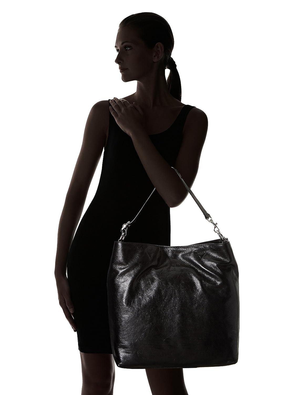 Bree Bergen 7 Shopper Leather 38 Cm Black Luggage Tas Wanita Hand Bag Sc2337