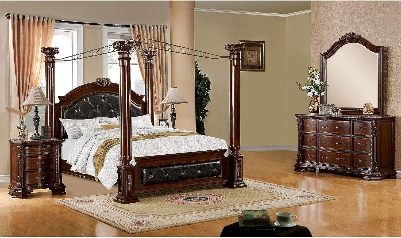 https www amazon com furniture america 4 piece baroque california dp b0756ykc2b