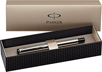 Parker Vector Chiseled Shiny Stainless Steel Rollerball Pen New In Box